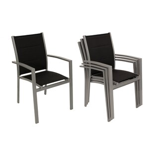 Molucca Stacking Garden Chair Set (Set Of 4) Image