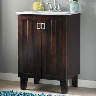 Larabee 24 Single Sink Bathroom Vanity Set by Latitude Run