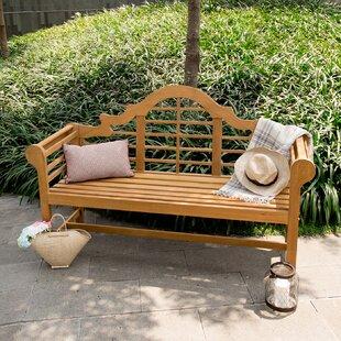 Wallie Teak Garden Bench by Birch Lane? Heritage