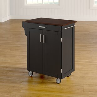 August Grove Savorey Kitchen Cart