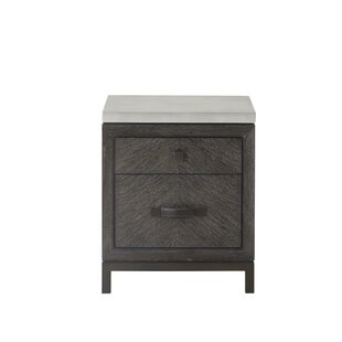 Emerson 2 Drawer Nightstand
