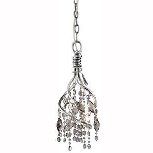 Willa Arlo Interiors Destrie 4-Light Crystal Pendant