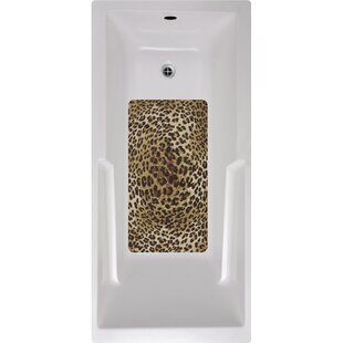 Cheetah Bath Tub And Shower Mat