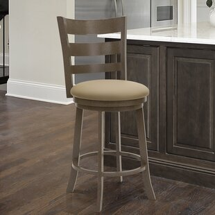 Strudwick 26 Swivel Bar Stool by Red Barrel Studio