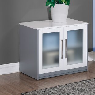 Rivas 2 Door Accent Cabinet by Ebern Designs Comparison