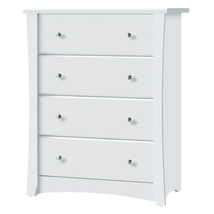 Crescent 4 Drawer Standard Chest by Storkcraft