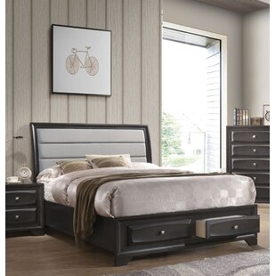 Penley Upholstered Storage Sleigh Bed by Red Barrel Studio