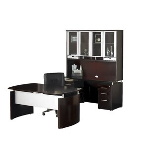 Mayline Group Napoli Series 4-PIece Standard Desk Office Suite