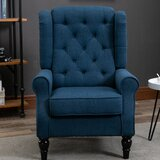 Lachesis 30'' Wide Tufted Wingback Chair