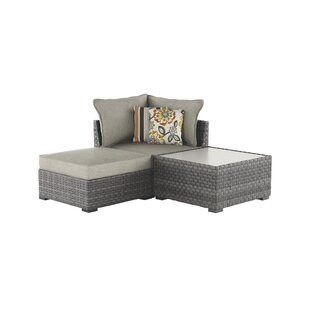 Ivy Bronx Luellen Patio Sectional with Cushions