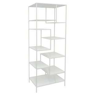 Affordable Nine Shelf Etagere Bookcase by Three Hands