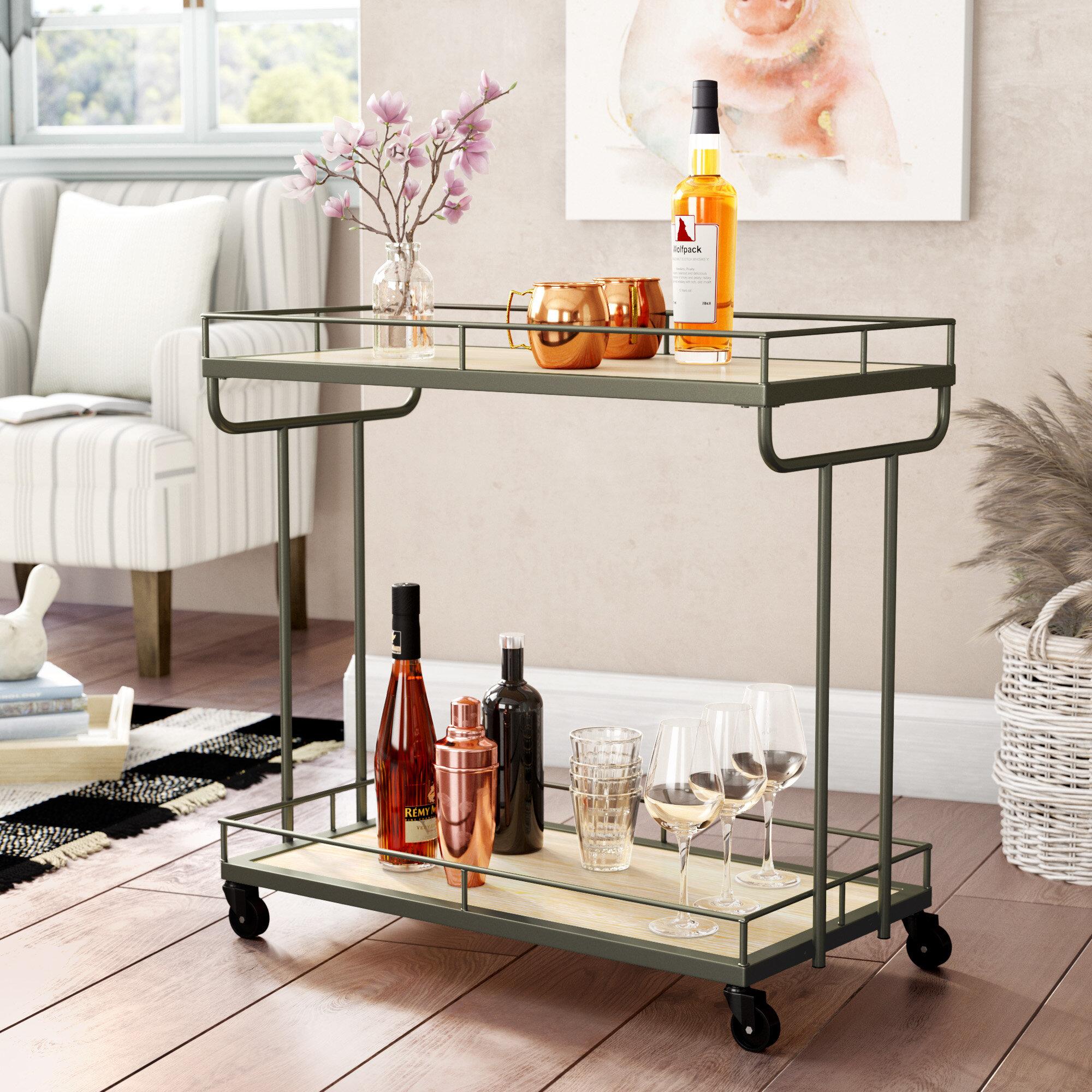 Baynham 2 Tier Bar Cart By Laurel Foundry Modern Farmhouse