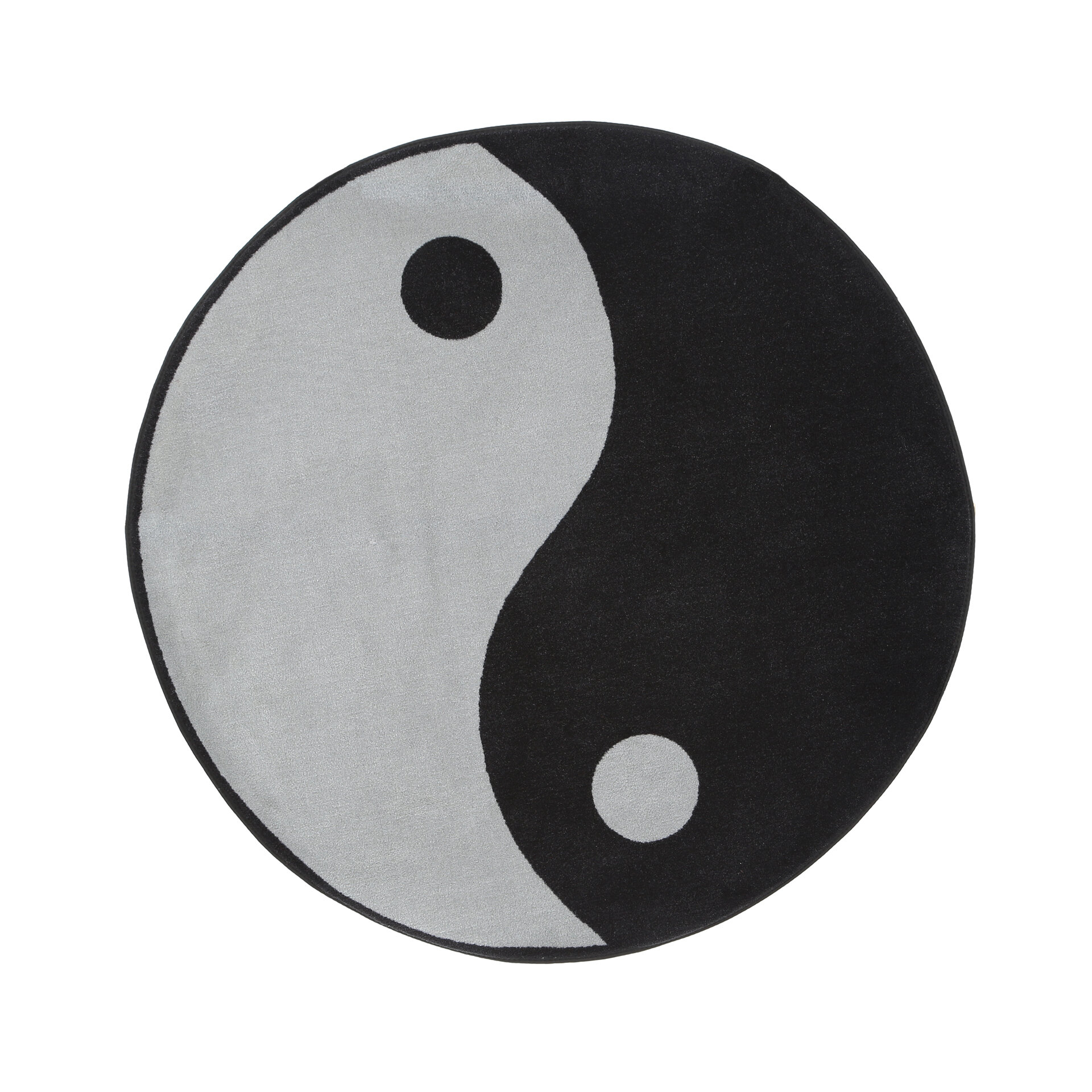 Fun rugs fun shape high pile ying yang area rug reviews wayfair biocorpaavc