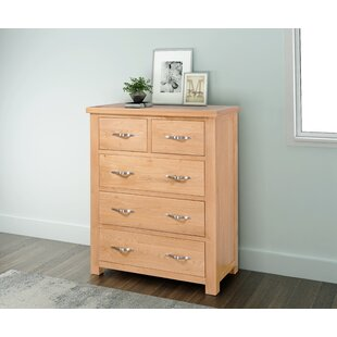 Aponte 5 Drawer Chest By Gracie Oaks