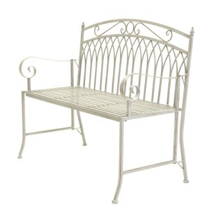 Willena Wrought Iron Bench Image