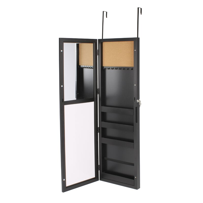 Uniek Storage Over the Door Jewelry Armoire with Mirror Reviews