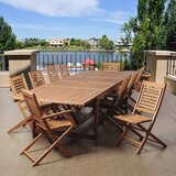 Tuthill International Home Outdoor 11 Piece Dining Set