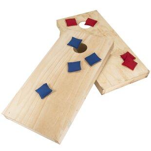 Hey! Play! Wooden Cornhole Set