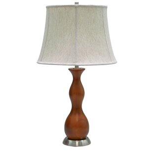 Aspen Creative Corporation Wooden 28'' Table Lamp