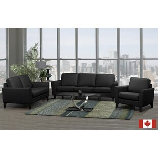 Searching for Brunet 3 Piece Leather Living Room Set by Brayden Studio Reviews (2019) & Buyer's Guide