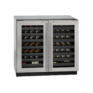 62 Bottle 3000 Series Dual Zone Built-in Wine Cooler