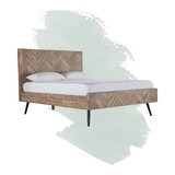 Lexy Platform Solid Wood Configurable Bedroom Set by Foundstone