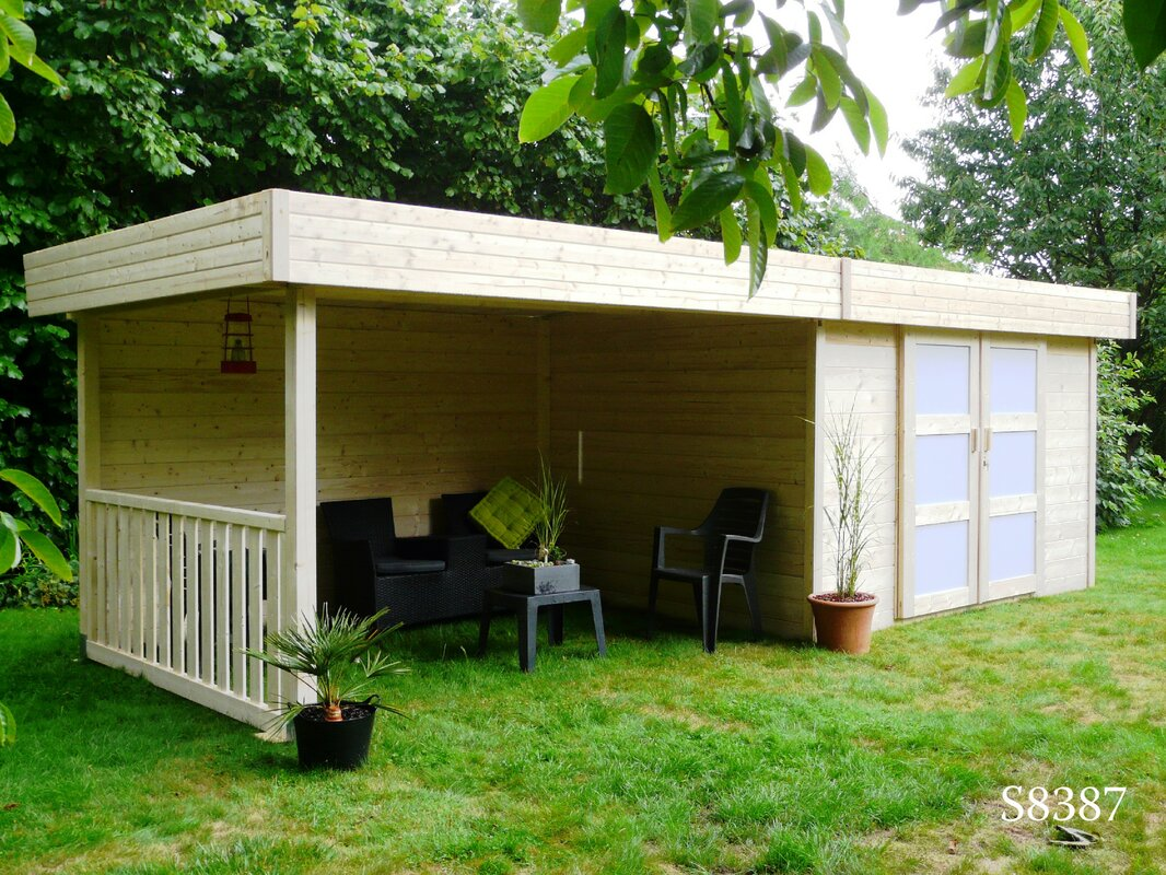 Solid Timber Products Ltd Superia 23 X 9 Ft Summerhouse