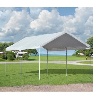 AccelaFrame 10 Ft. W x 20 Ft. D Steel Pop-Up Canopy by ShelterLogic