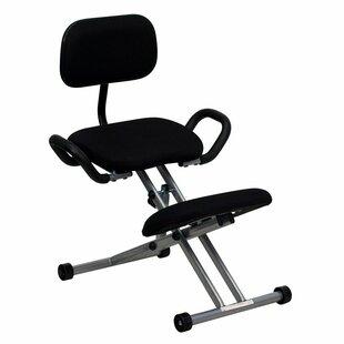 Krull Height Adjustable Kneeling Chair by Symple Stuff Best #1