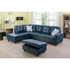 maumee 138 sectional with ottoman