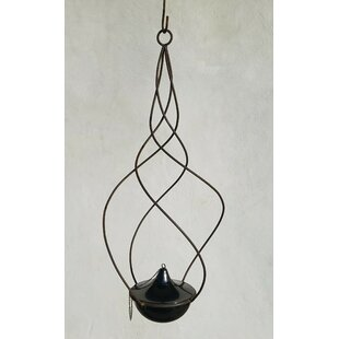 Starlite Garden and Patio Torche Co. Handmade Swirl Frame and Hanging Torch