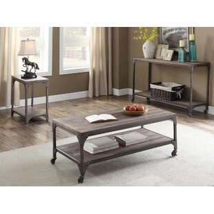 Killeen 3 Piece Coffee Table Set