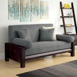 Housse pour futon à coussins carrés/rectangulaires unie Simoes