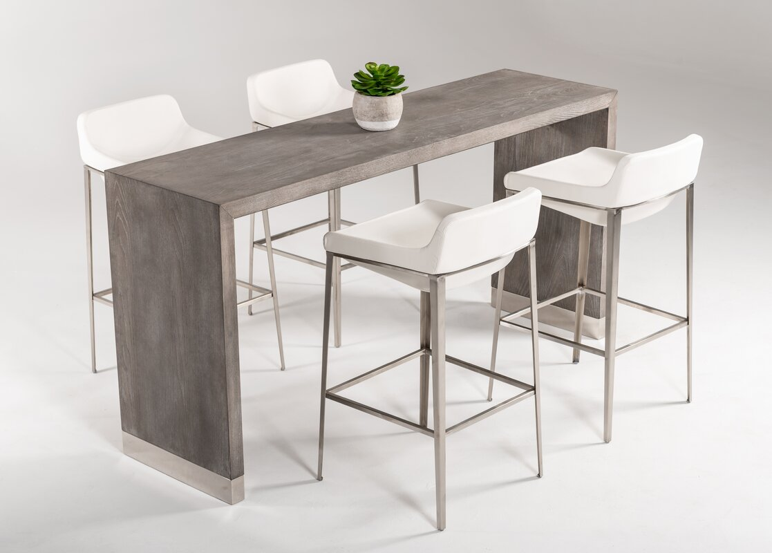Wade Logan Belafonte Counter Height Dining Table