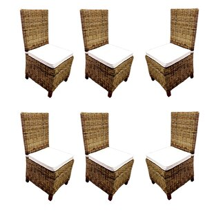 Carlton Patio Dining Chair With Cushion (Set Of 6) by D-Art Collection No Copoun