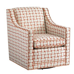 Barrier Swivel Armchair by Lexington