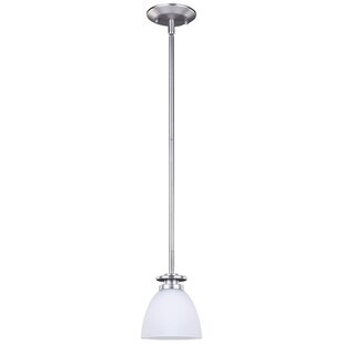 Charlton Home Stivers 1-Light Cone Pendant
