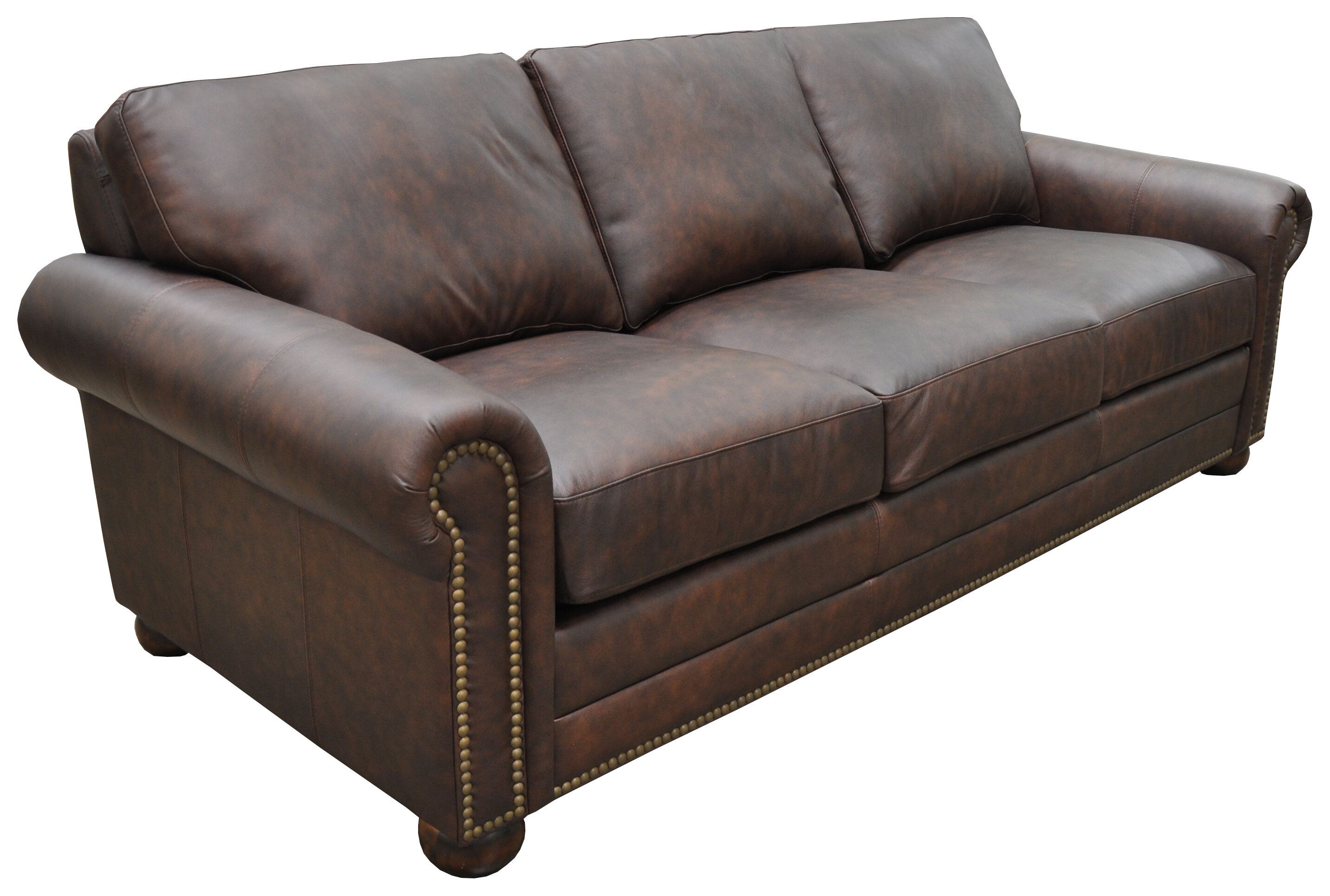 Athens Genuine Leather Chesterfield Sofa