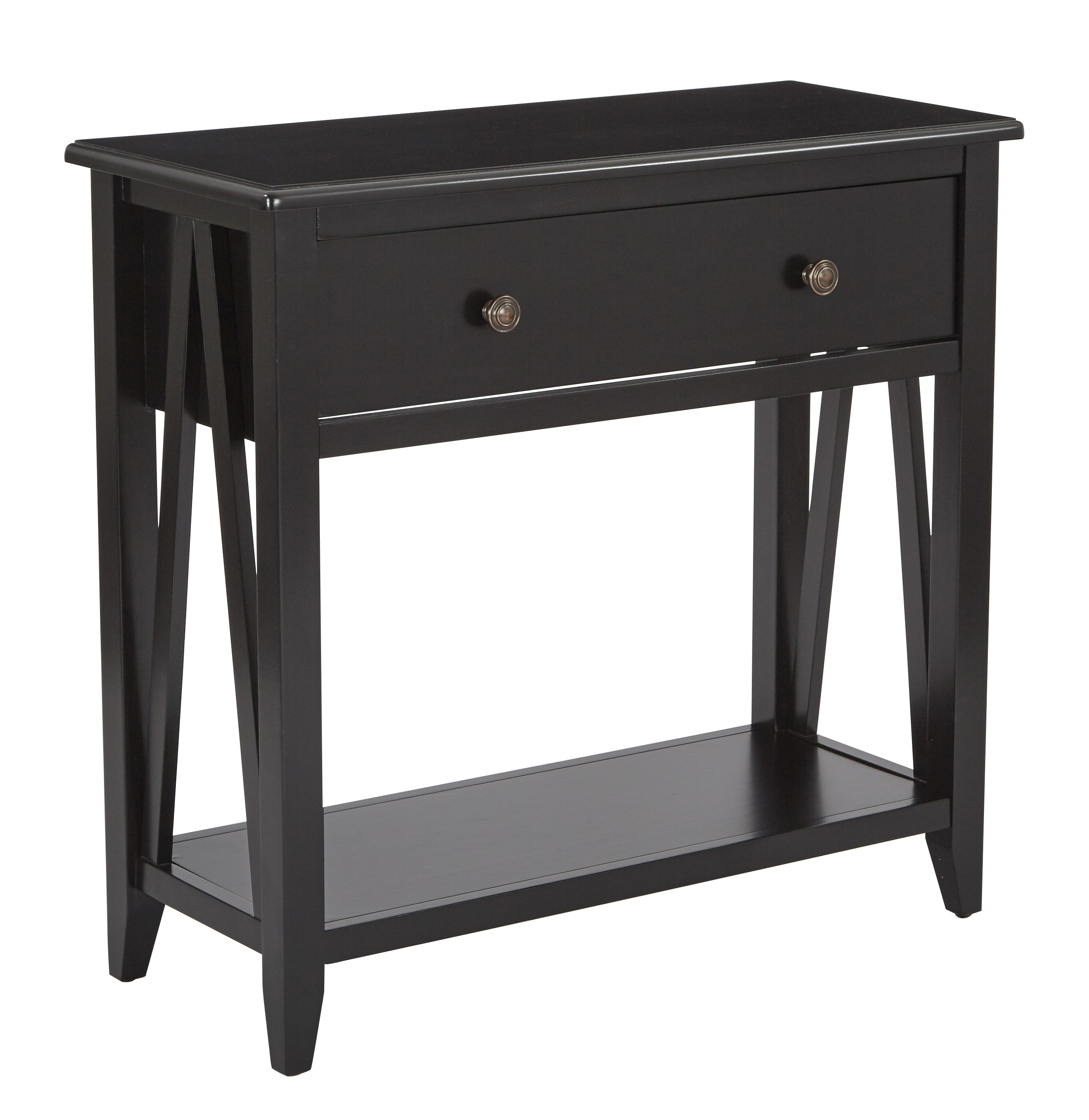 Winston porter whitbeck foyer console table wayfair
