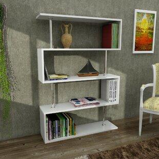 Frieda Geometric Bookcase by Wrought Studio