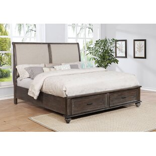 Hamilton Upholstered Storage Sleigh Bed