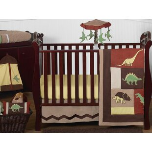 Reviews Dinosaur Land 11 Piece Crib Bedding By Sweet Jojo Designs
