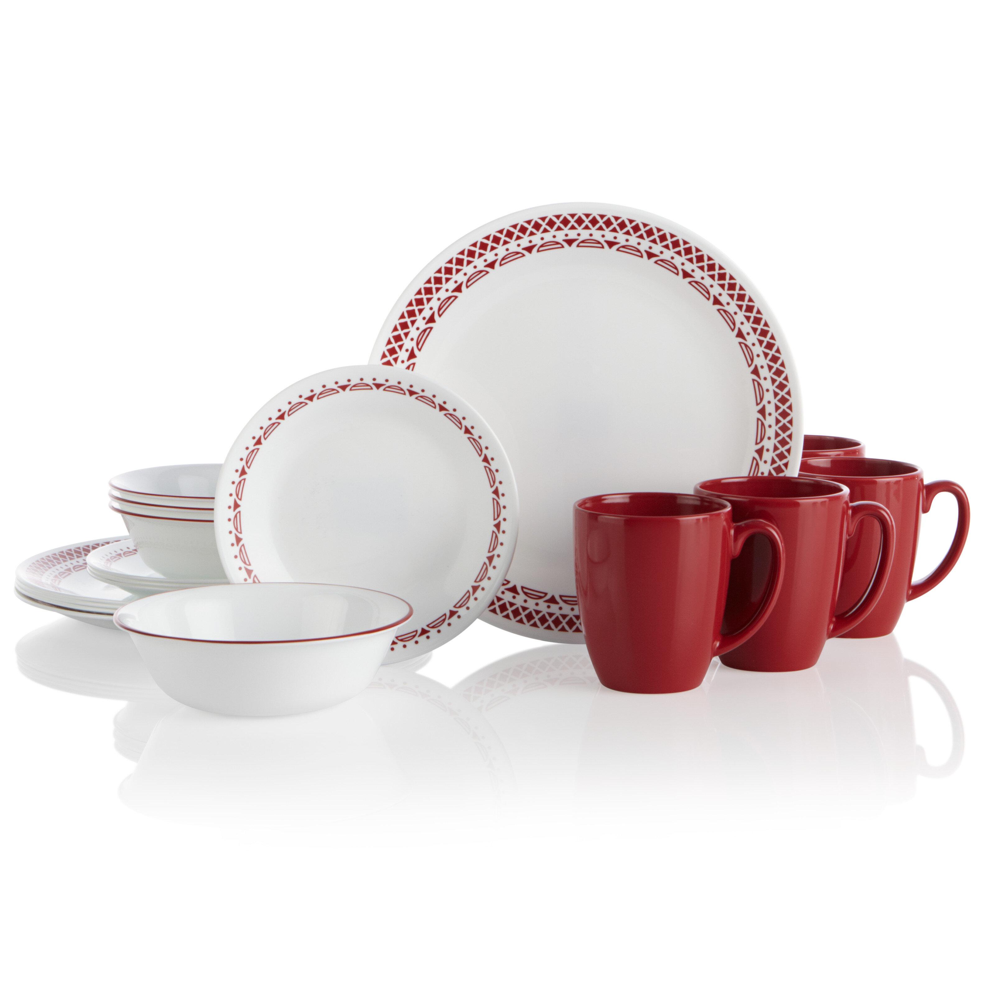 Microwave Safe Corelle Dinnerware Sets Up To 65 Off Until 11 20 Wayfair Wayfair
