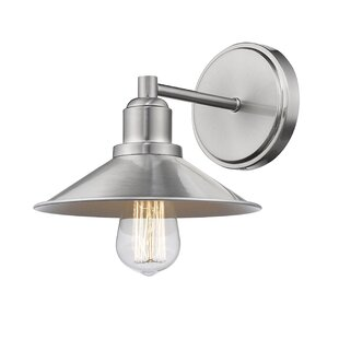 Cromartie 1-Light Bath Sconce by Breakwater Bay