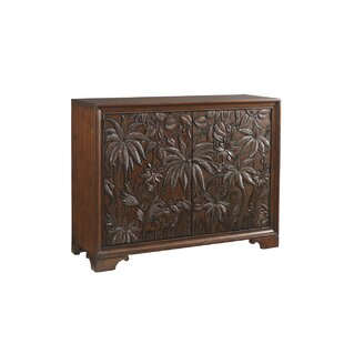 Landara Balboa 2 Drawer Carved Door Accent Cabinet