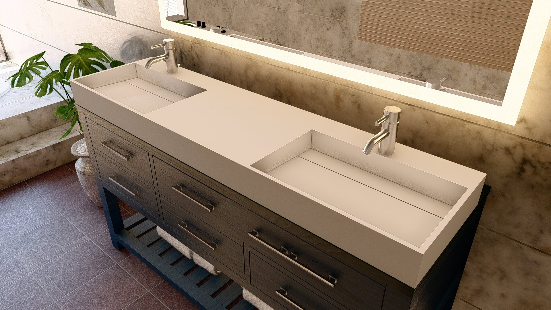 72 Inches Double Vanity Tops You Ll Love In 2021 Wayfair