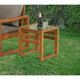 Luzerne Wooden Side Table By Breakwater Bay