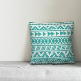 Reser Tribal Indoor/Outdoor Throw Pillow