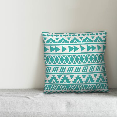 Reser Tribal Indoor/Outdoor Throw Pillow by Bungalow Rose Great Reviews