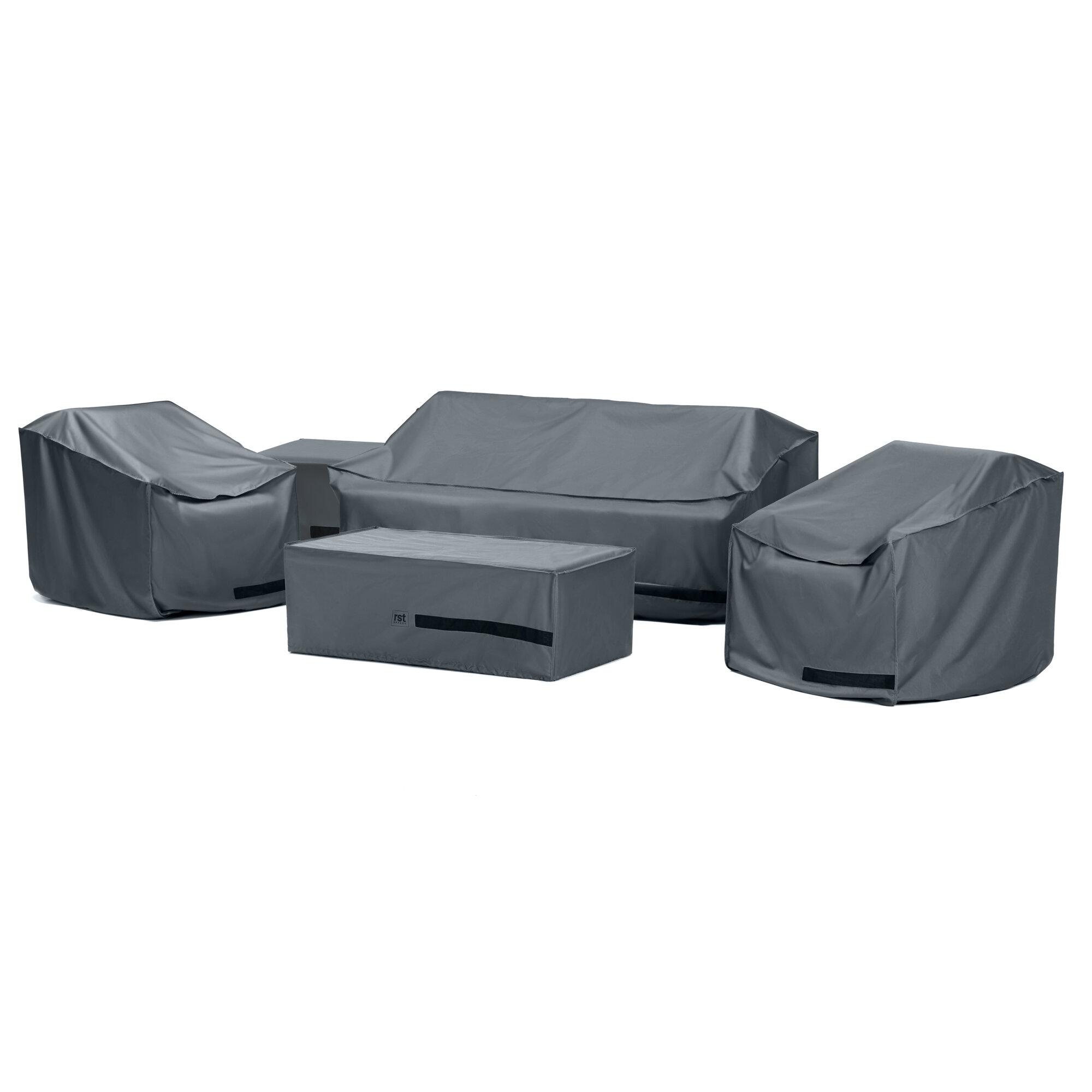 Rst Brands Outdoor Furniture Heavy Duty Conversation Set Cover Wayfair
